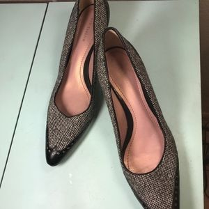 Ann Taylor Size 8M High Heels Black and White